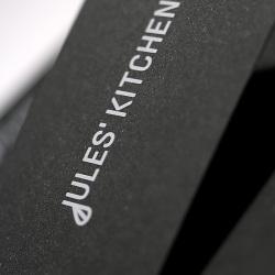 Inge Vorraber für Jules' Kitchen, Identity Design